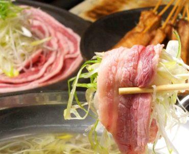 葱豚しゃぶしゃぶコース<br /> 2000円(料理のみ、飲み放題別)<br />